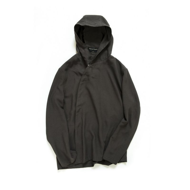 画像1: DEFORMED HOODED SHIRTS 〈DARK BROWN〉 (1)