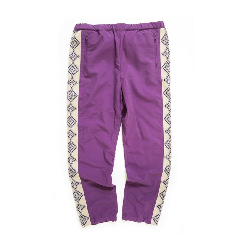 画像1: THE SOURCE TRAINING PANTS 〈PURPLE〉 (1)