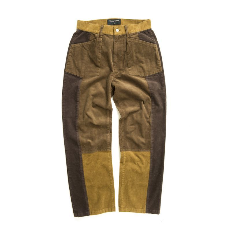 画像1: SWITCH CORDUROY PANTS  B(BROWNBASE) (1)