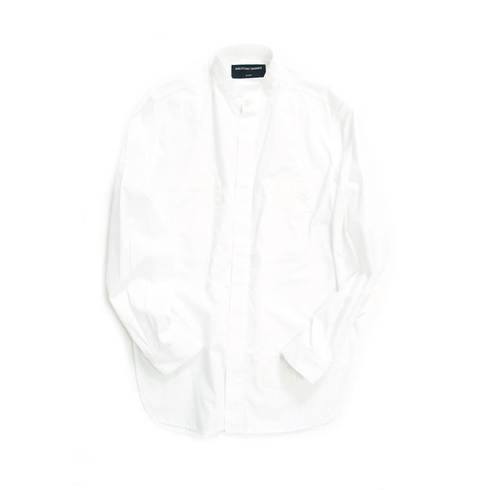 画像1: EDGE SERVICE SHIRTS 〈WHITE〉 (1)