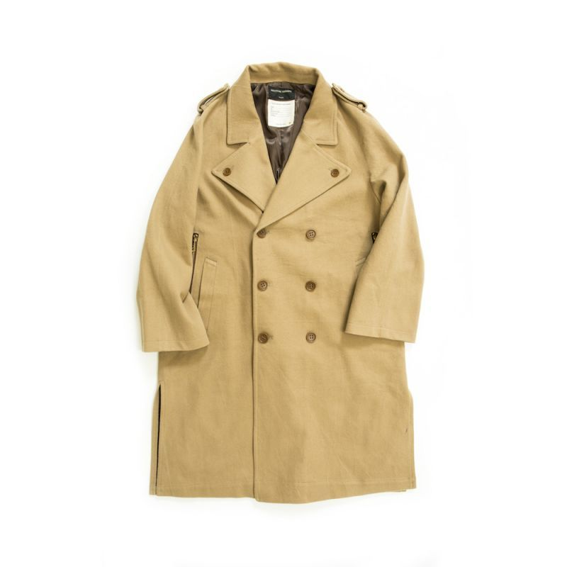 画像1: UNUSUAL TRENCH COAT (1)