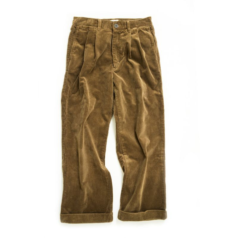 画像1: 2TAC CORDUROY PANTS 〈BROWN〉 (1)