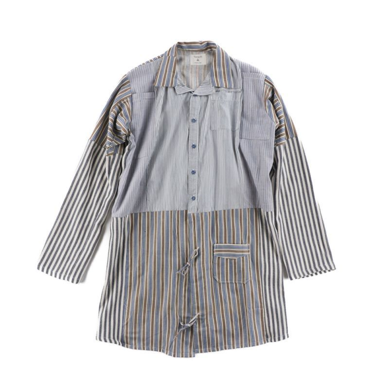 画像1: STRIPE MIX SHIRTS (1)