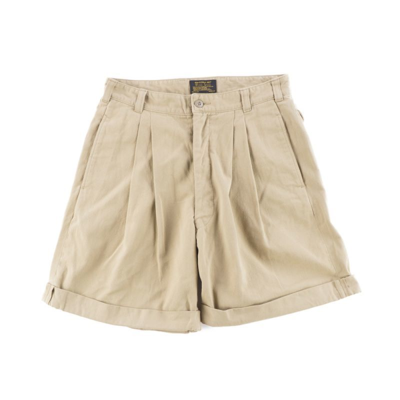 画像1: 60' FRENCH TYPE CHINO SHORT PANTS (1)