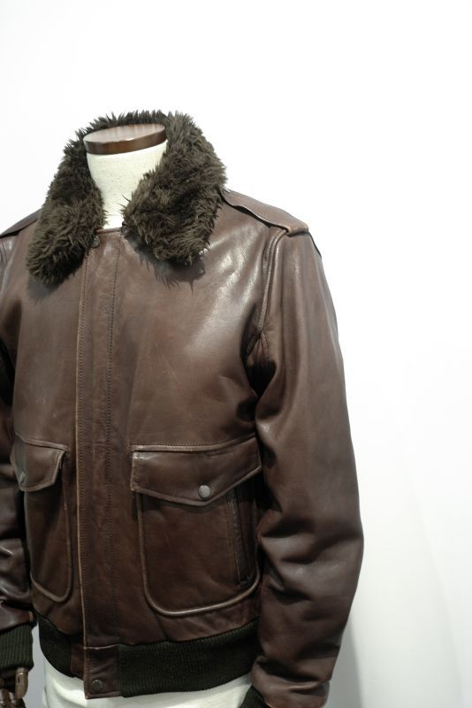 画像1: G-1 TYPE LEATHER JACKET (1)