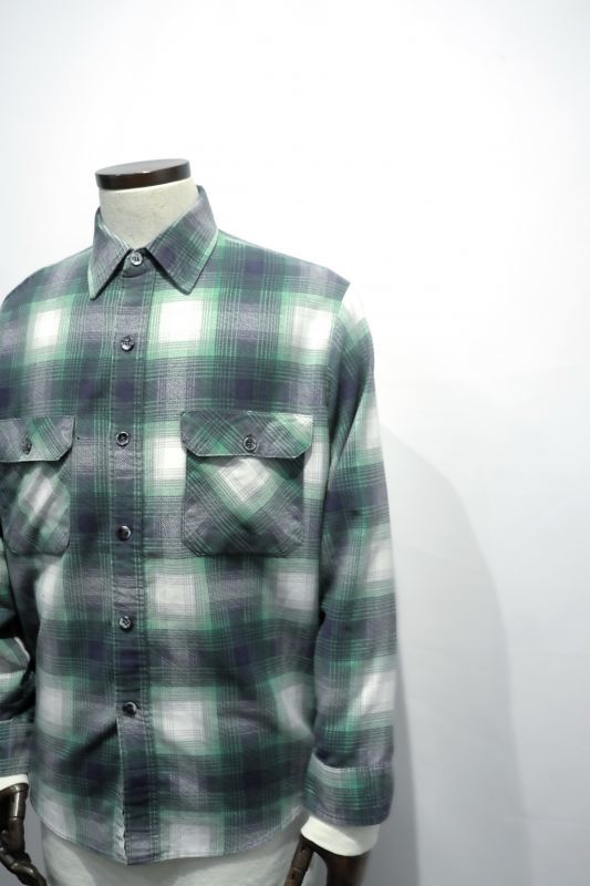 "画像1: ""FIELDMAKER"" FLANNEL SHIRT (1)"