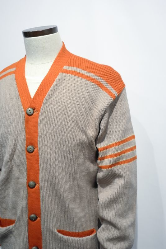 "画像1: ""LOGAN KNITTING MILLS"" 40's LETTERRED CARDIGAN (1)"
