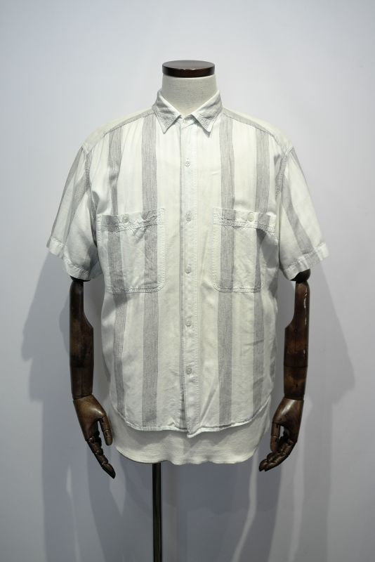 "画像1: ""SAMANA  COLLECTION"" STRIPE S/S SHIRT (1)"