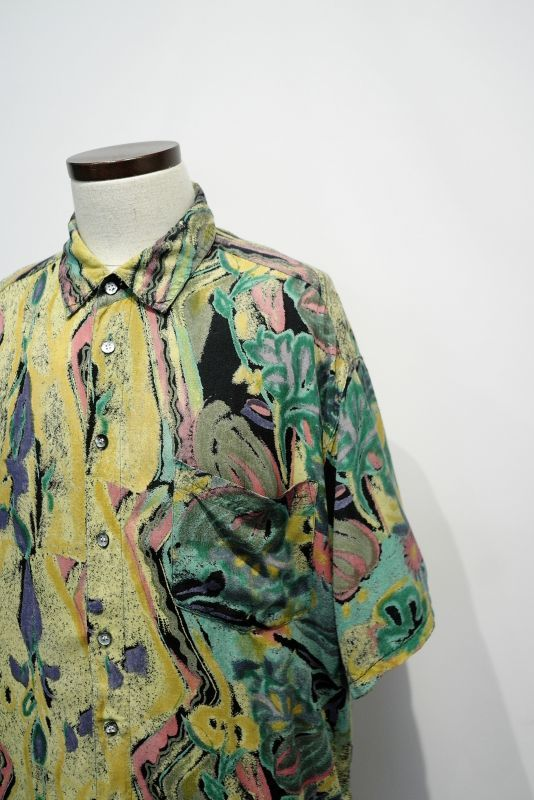 "画像1: ""GIN tonic""  ART PATTERN S/S SHIRT (1)"