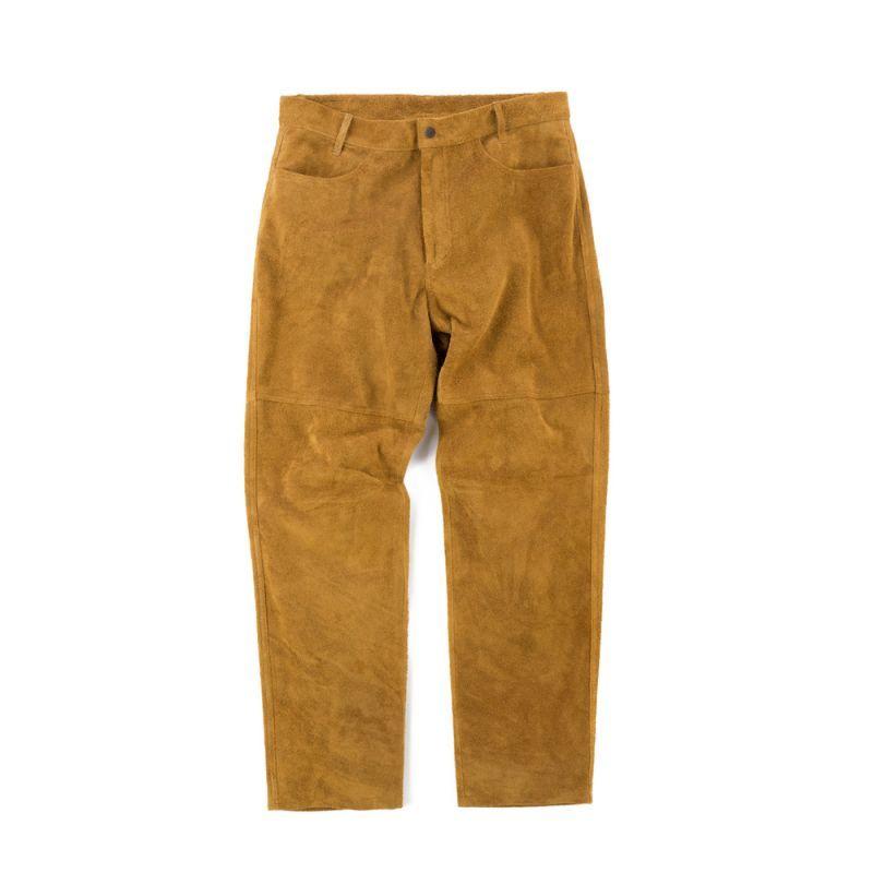 画像1: VINTAGE SUEDE PANTS (1)