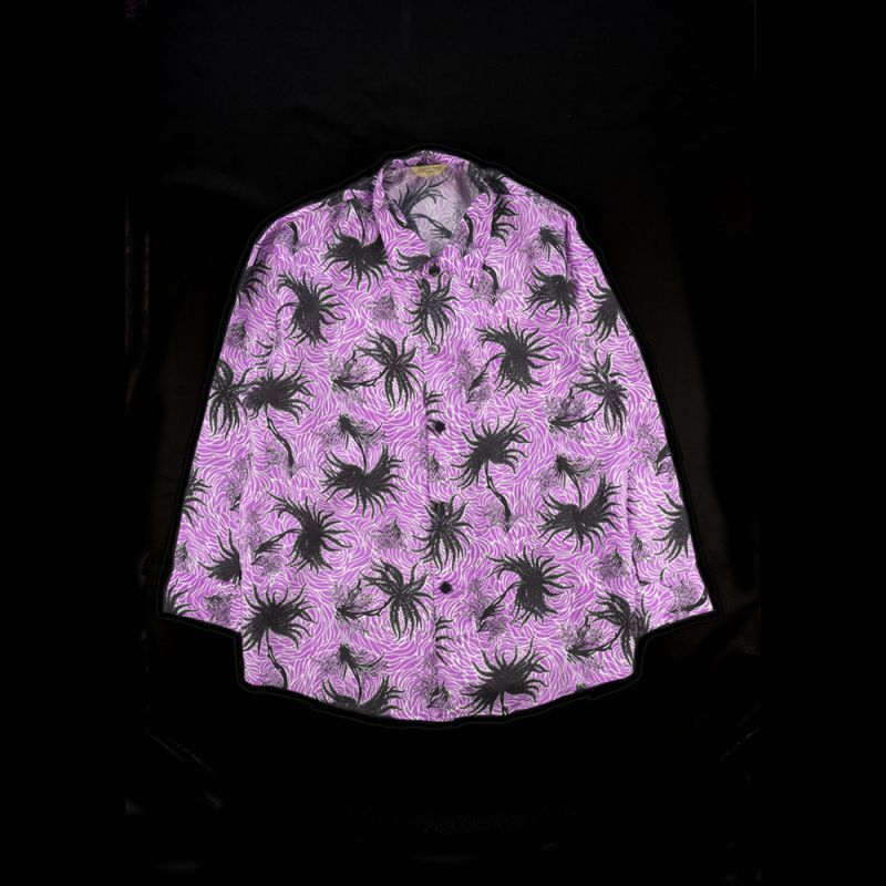 画像1: 50'S SINGULAR  ALOHA SHIRTS LONG SLEEVE (1)