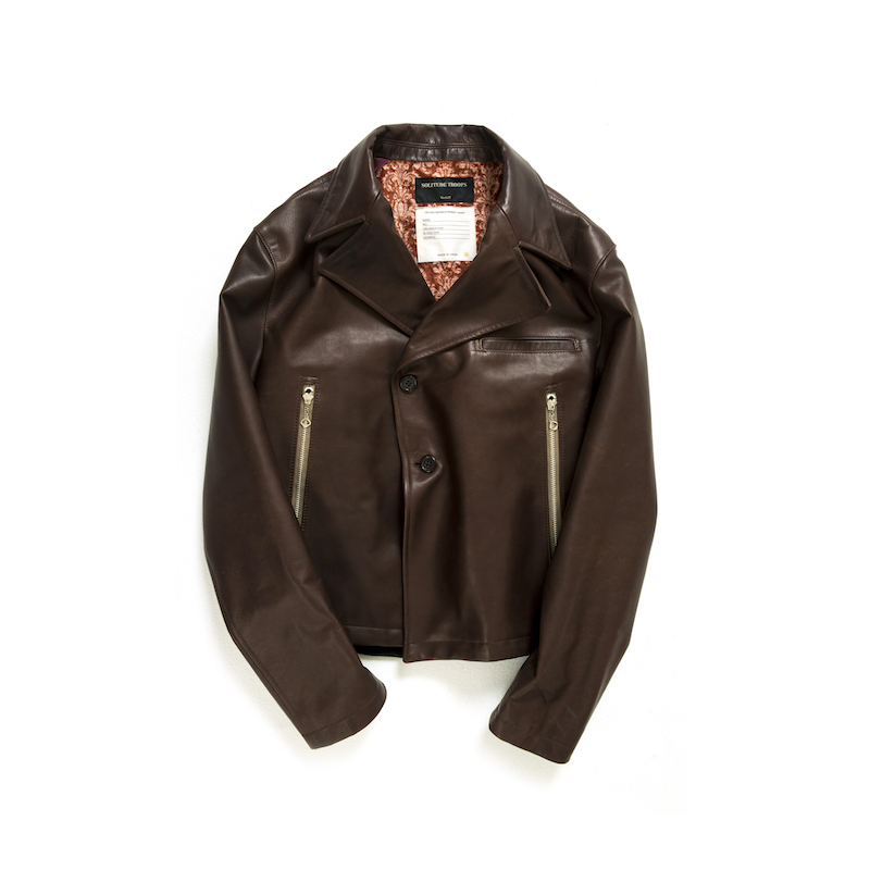 画像1: DAMAGE HORSE LEATHER  SOLITUDE JACKET (1)